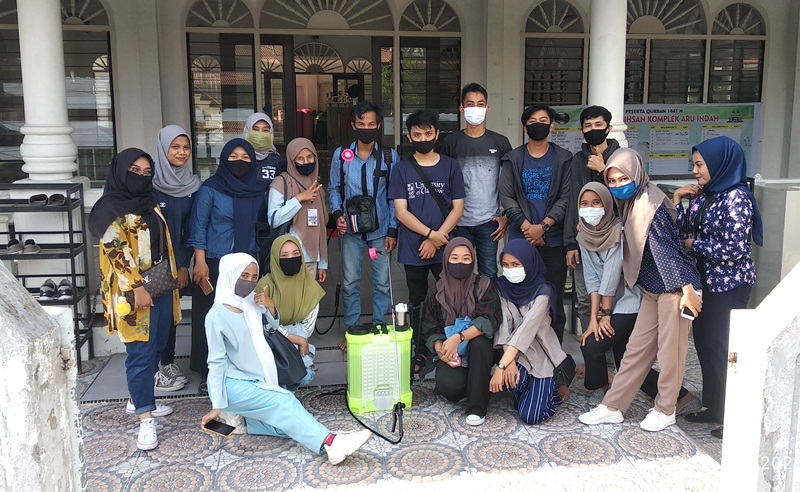 Mahasiswa UNP: Lakukan PKM di masjid Al-Ihsan